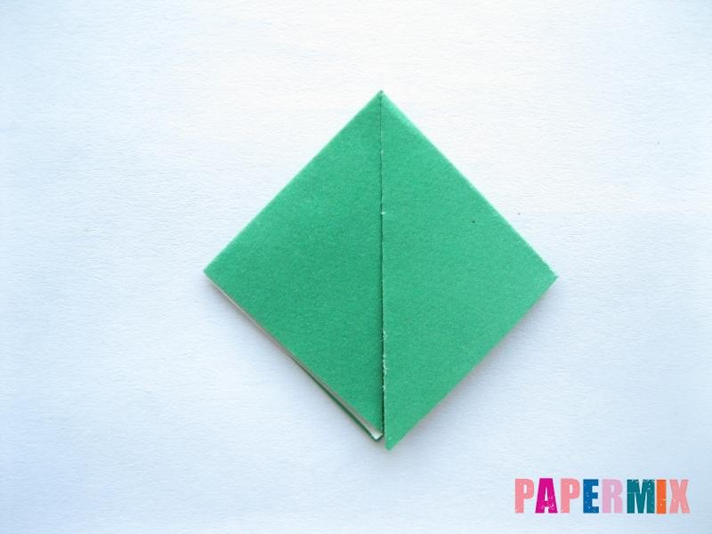 Как сделать помидор из бумаги (оригами) своими руками - шаг 8