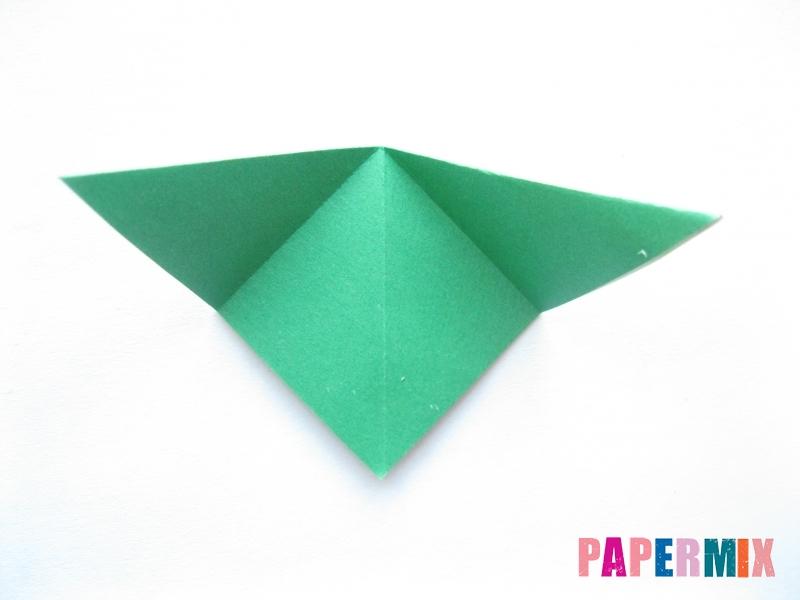 Как сделать помидор из бумаги (оригами) своими руками - шаг 9