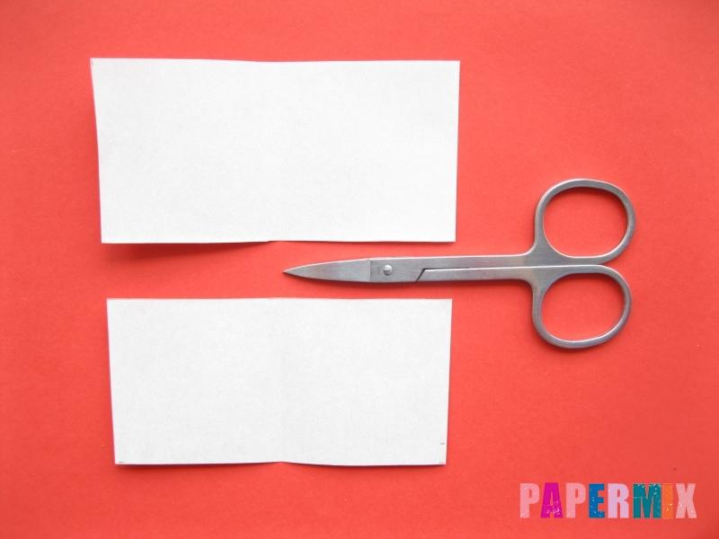 Как сделать пончик из бумаги (оригами) своими руками - шаг 2