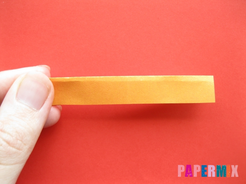 Как сделать пончик из бумаги (оригами) своими руками - шаг 4