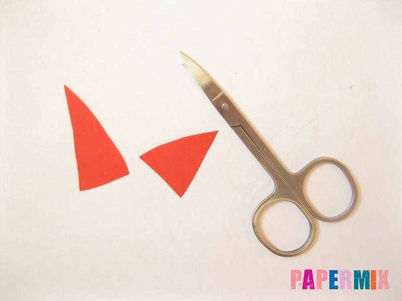 Как сделать маску Фокси из бумаги поэтапно - шаг 2
