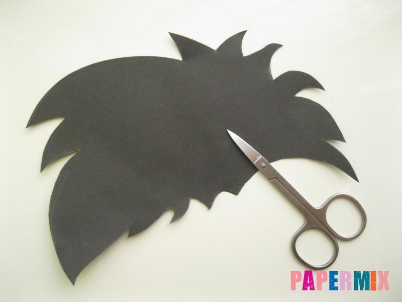 Как сделать маску Халка из бумаги своими руками - шаг 3