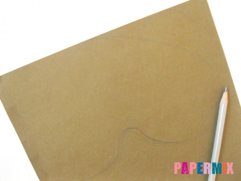 Как сделать маску медведя из бумаги своими руками - шаг 1