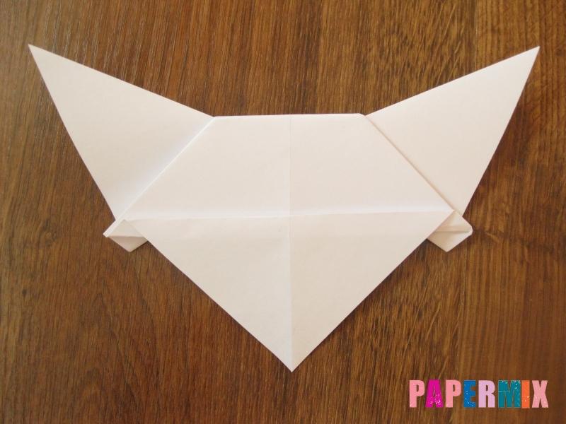 Как сделать маску волка из бумаги своими руками - шаг 11