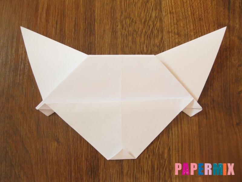 Как сделать маску волка из бумаги своими руками - шаг 12