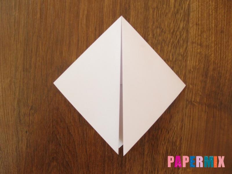 Как сделать маску волка из бумаги своими руками - шаг 6