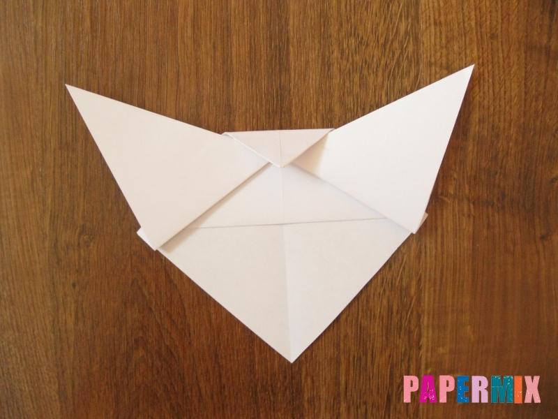 Как сделать маску волка из бумаги своими руками - шаг 8
