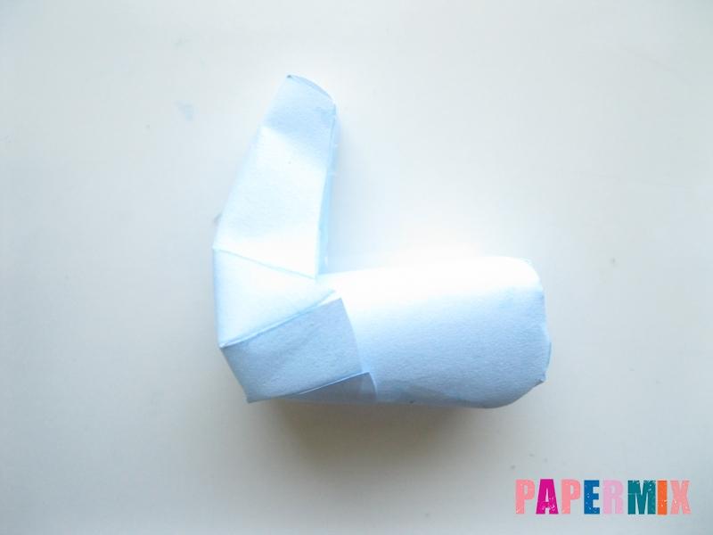 Как сделать Радугу Дэш из бумаги по шаблону своими руками - шаг 5