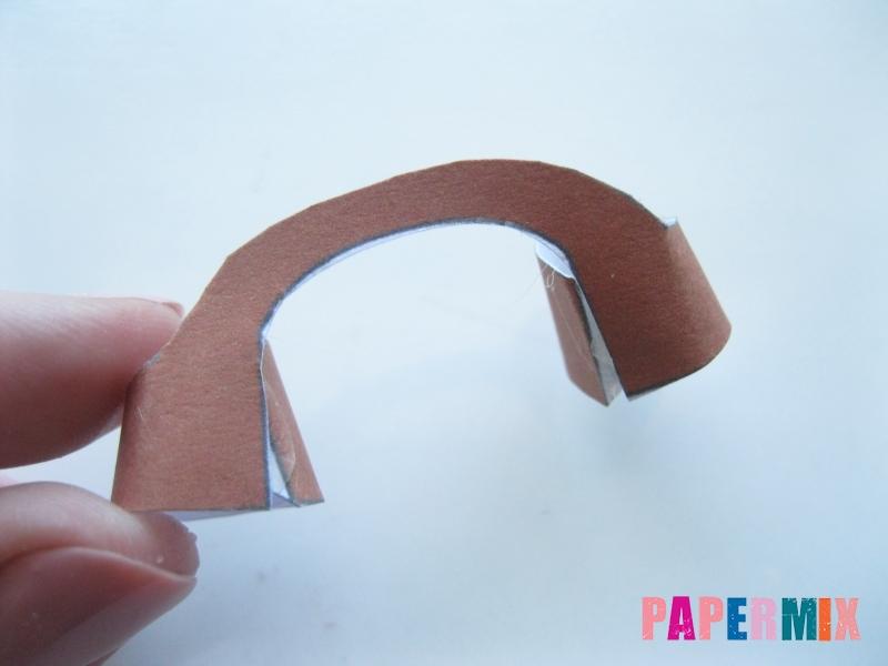 Как сделать Губку Боба из бумага по шаблону своими руками - шаг 13