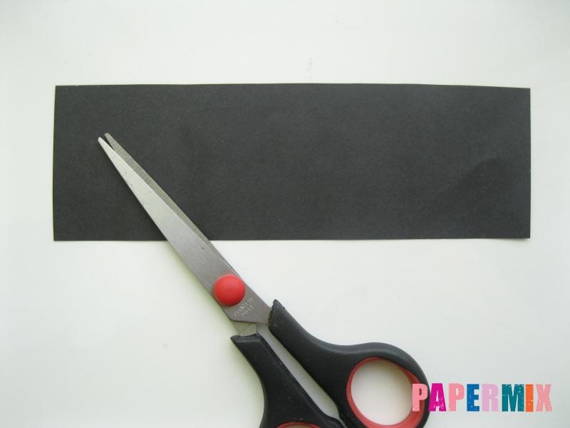 Как сделать объемного Пина из бумаги своими руками - шаг 1
