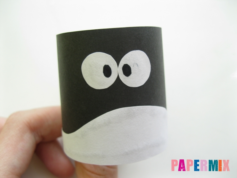 Как сделать объемного Пина из бумаги своими руками - шаг 4
