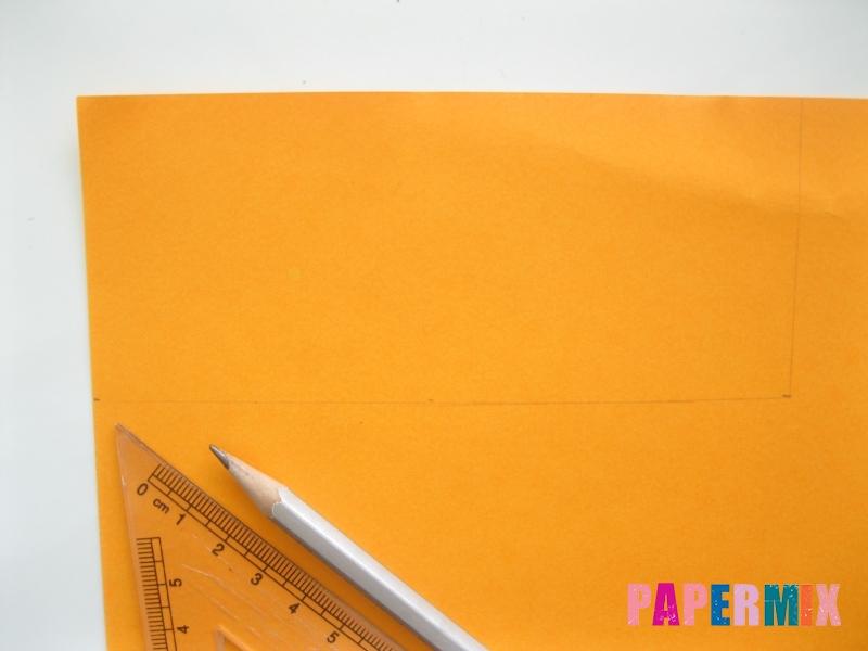 Как сделать объемного смешарика Копатыча из бумаги - шаг 1