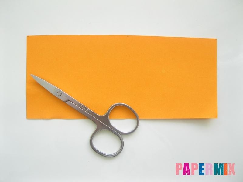 Как сделать объемного смешарика Копатыча из бумаги - шаг 2