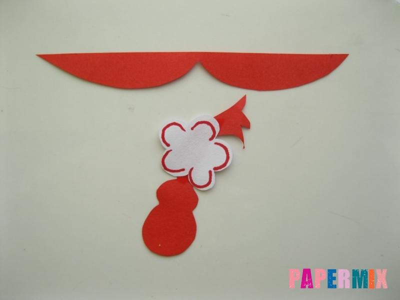 Как сделать объемную Нюшу из бумаги своими руками - шаг 6