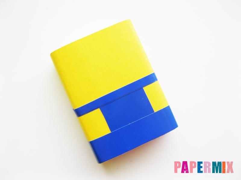 Миньон Боб из спичечного коробка и бумаги своими руками - шаг 6