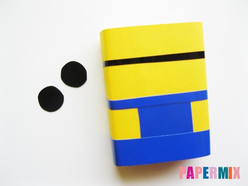 Миньон Боб из спичечного коробка и бумаги своими руками - шаг 8