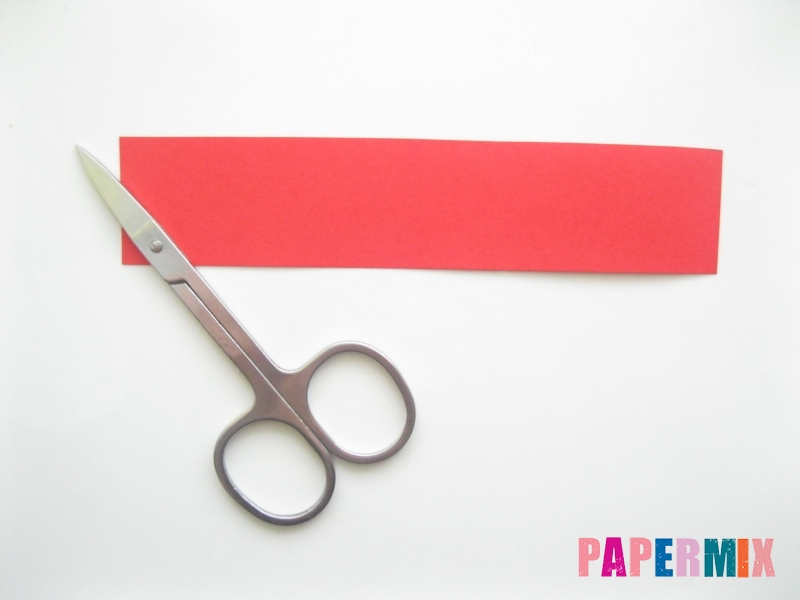 Как сделать объемного петуха из бумаги своими руками - шаг 1