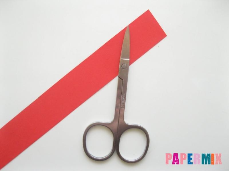 Как сделать объемного петуха из бумаги своими руками - шаг 3