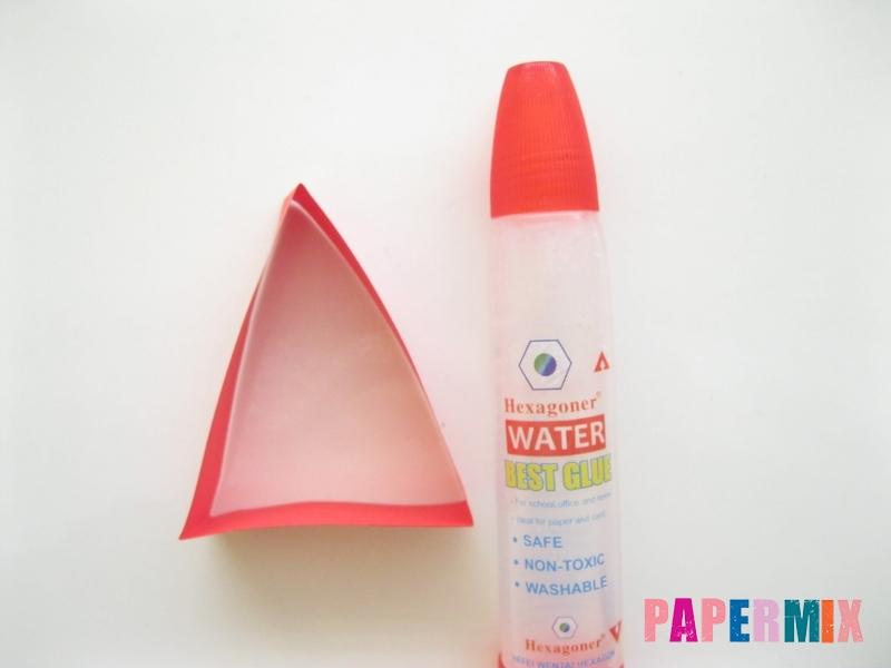 Как сделать объемного петуха из бумаги своими руками - шаг 4