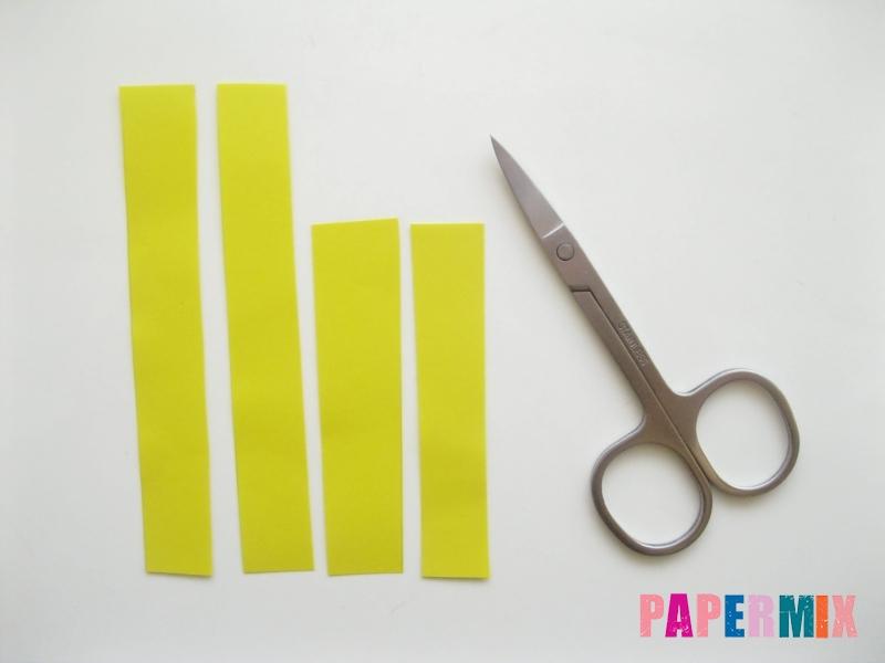 Как сделать объемного петуха из бумаги своими руками - шаг 6