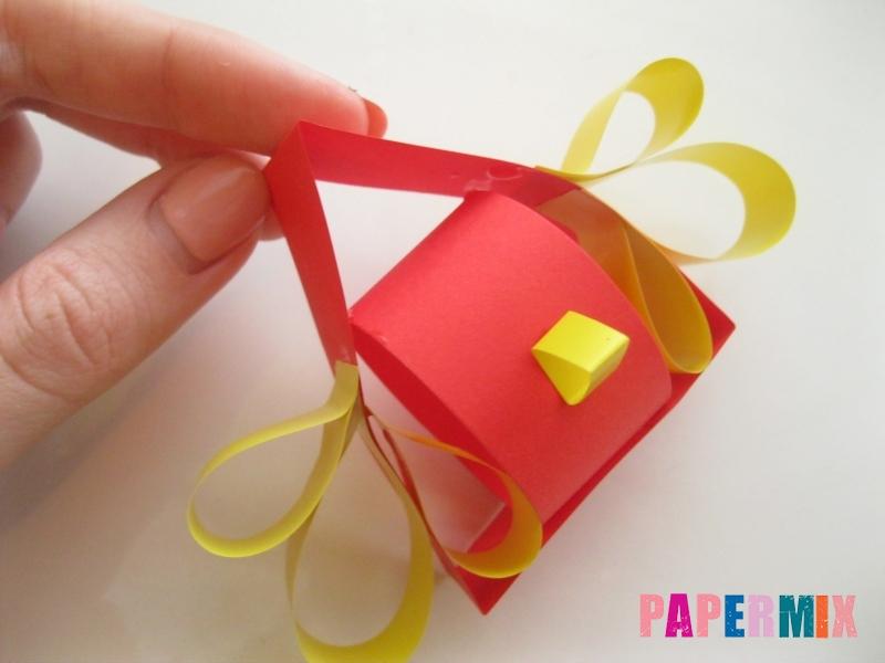 Как сделать объемного петуха из бумаги своими руками - шаг 9