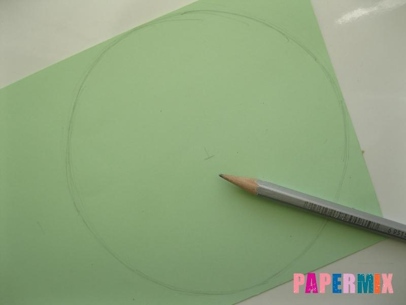 Как сделать елку из бумаги своими руками поэтапно - шаг 1