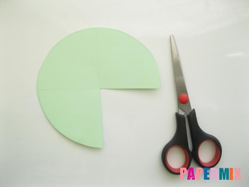 Как сделать елку из бумаги своими руками поэтапно - шаг 3