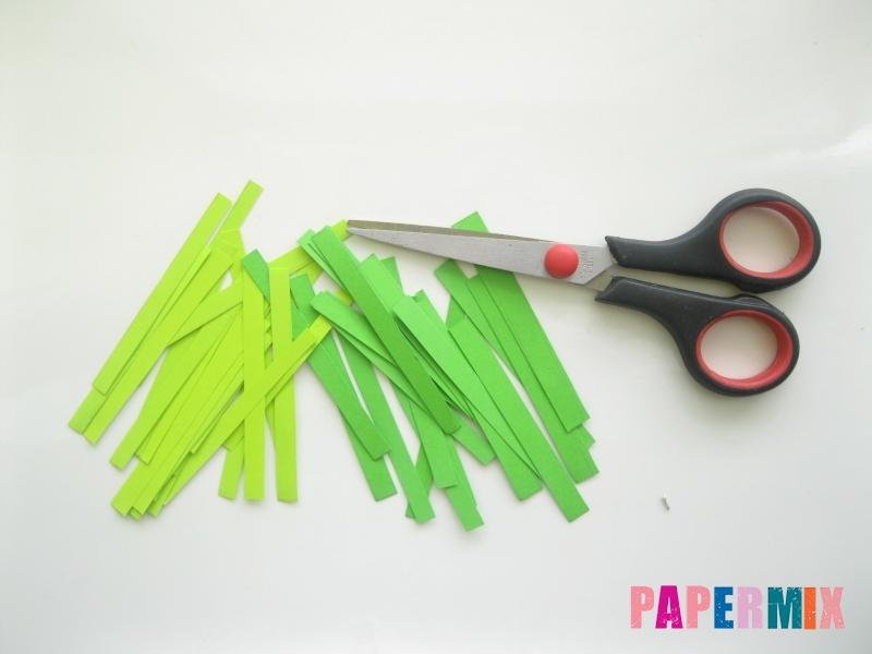 Как сделать елку из бумаги своими руками поэтапно - шаг 5