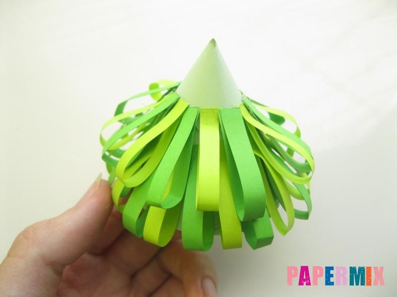 Как сделать елку из бумаги своими руками поэтапно - шаг 8