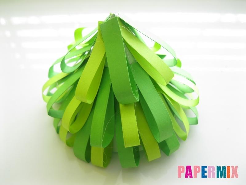 Как сделать елку из бумаги своими руками поэтапно - шаг 9