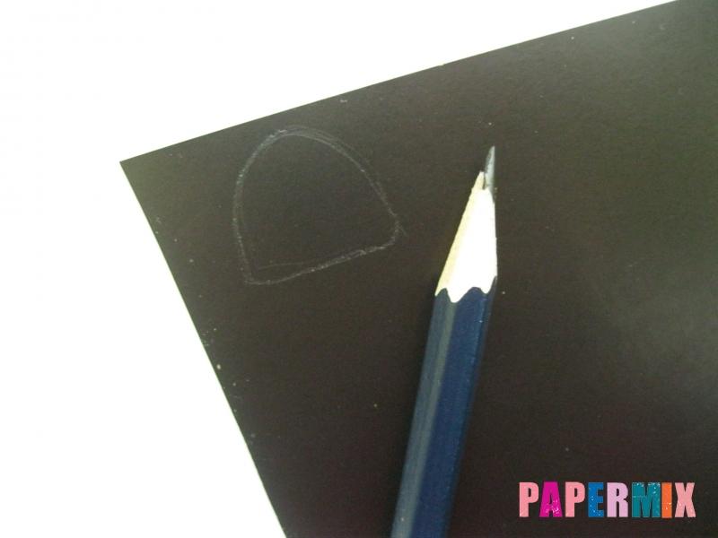 Как сделать гирлянду из бумажных лампочек своими руками  - шаг 1