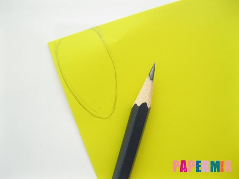 Как сделать гирлянду из бумажных лампочек своими руками  - шаг 4