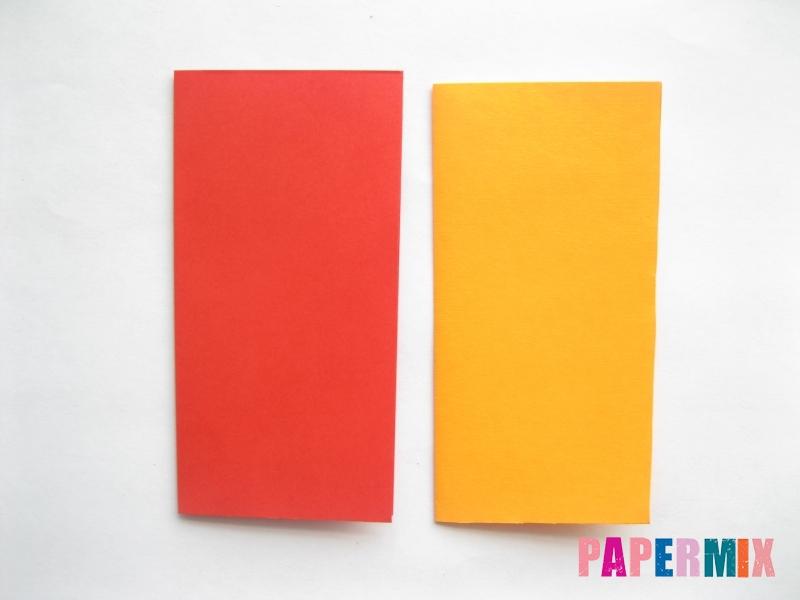 Как сделать конверт-валентинку своими руками из бумаги - шаг 3