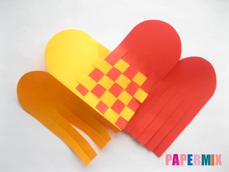 Как сделать конверт-валентинку своими руками из бумаги - шаг 7