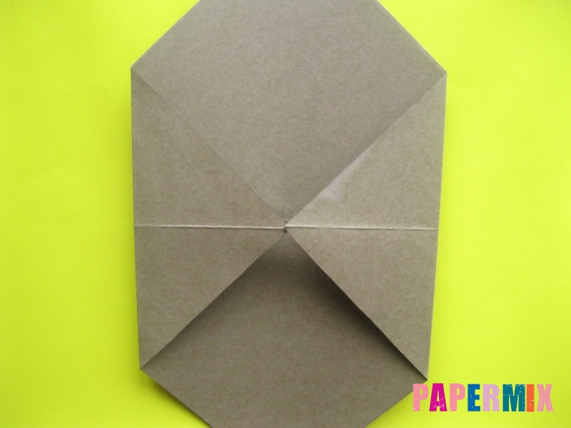 Как сделать конверт в виде оленя своими руками поэтапно - шаг 5