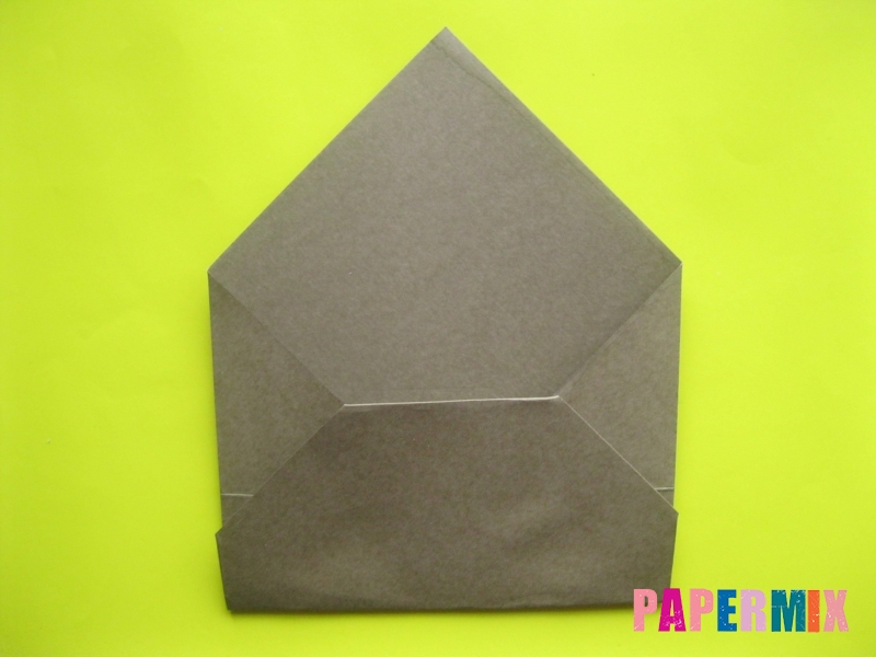 Как сделать конверт в виде оленя своими руками поэтапно - шаг 7