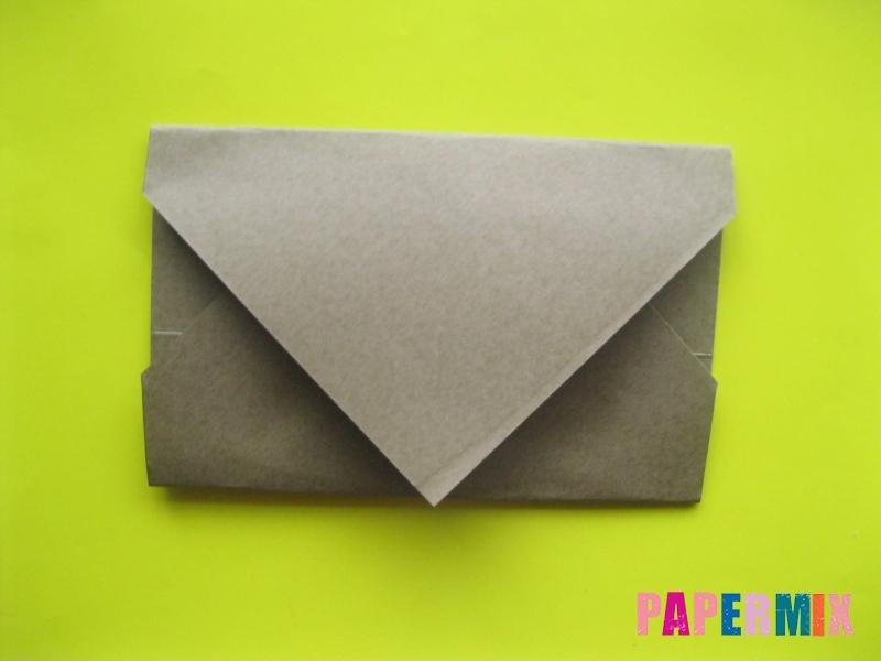Как сделать конверт в виде оленя своими руками поэтапно - шаг 8
