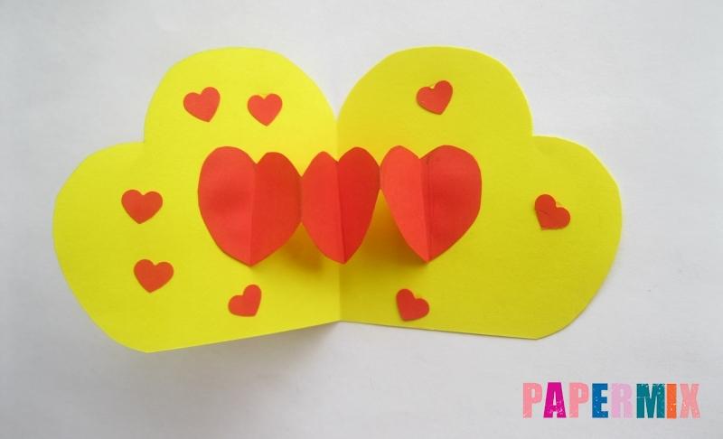 Как сделать объемную валентинку из бумаги своими руками ко дню святого Валентина