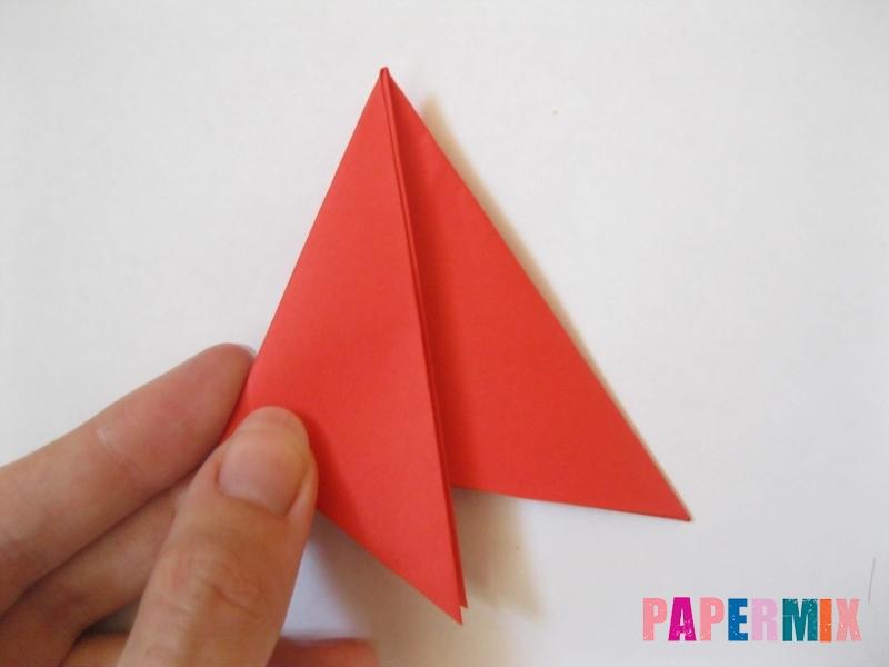Как сделать снежинку из бумаги своими руками  - шаг 5