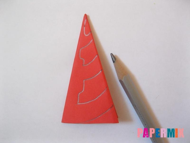 Как сделать снежинку из бумаги своими руками  - шаг 9