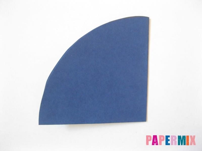Как сделать снежинку из круглой бумаги своими руками - шаг 5
