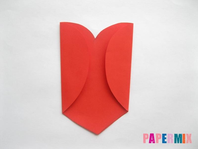 Конверт из сердечка ко дню святого Валентина своими руками - шаг 4
