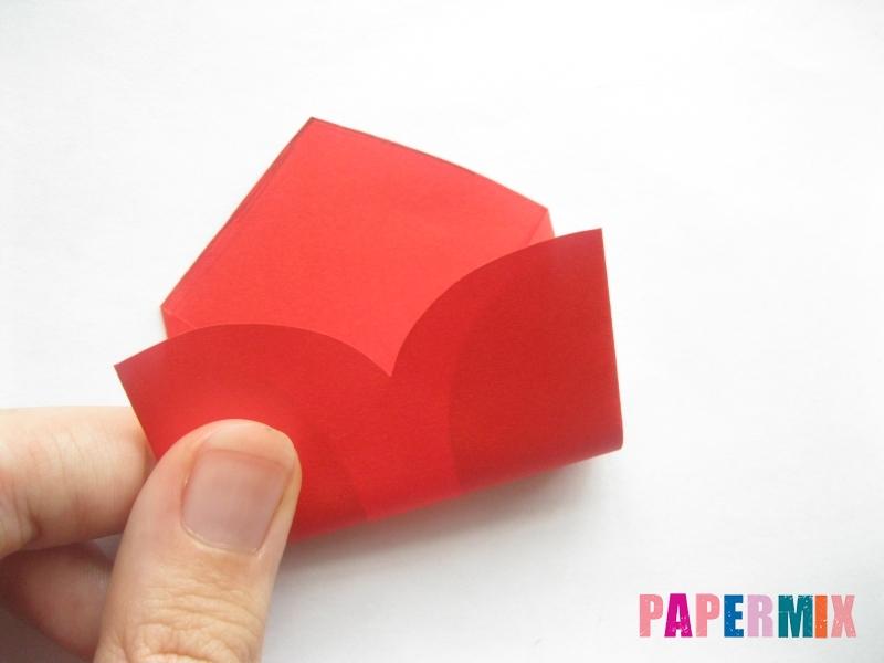 Конверт из сердечка ко дню святого Валентина своими руками - шаг 5