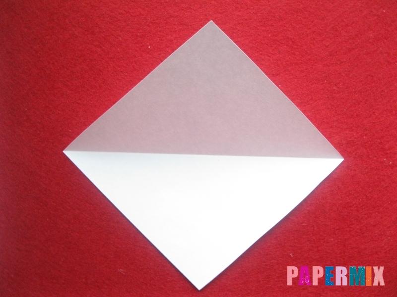 Конверт в виде снеговика из бумаги своими руками - шаг 3