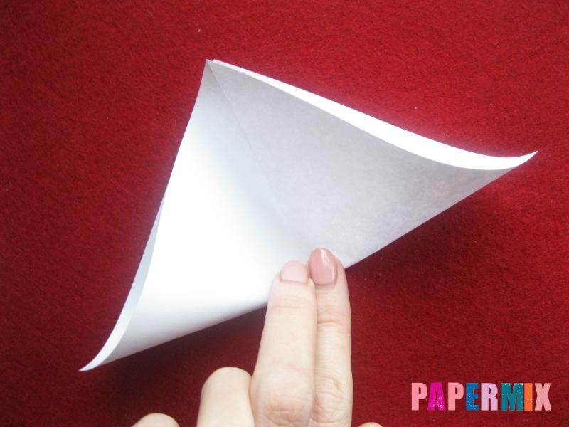 Конверт в виде снеговика из бумаги своими руками - шаг 4