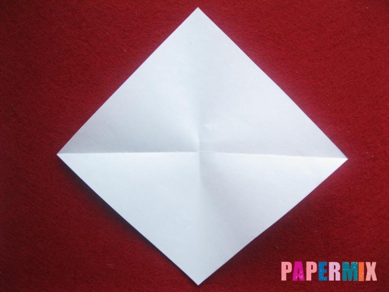 Конверт в виде снеговика из бумаги своими руками - шаг 5