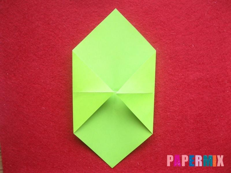 Конверт в виде Снегурочки из бумаги своими руками - шаг 5