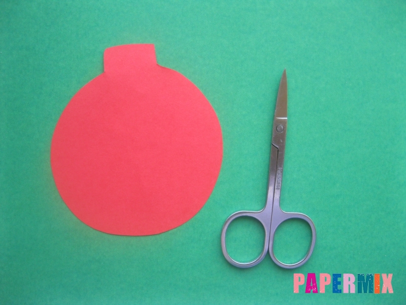 Новогодний шар из бумаги своими руками поэтапно - шаг 1