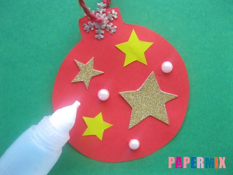 Новогодний шар из бумаги своими руками поэтапно - шаг 7