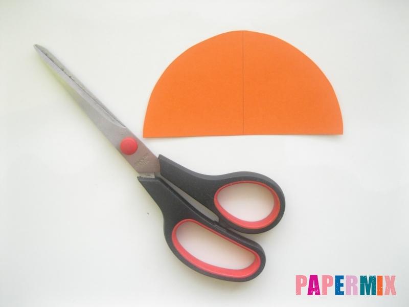 Новогодняя игрушка петух из бумаги своими руками - шаг 2
